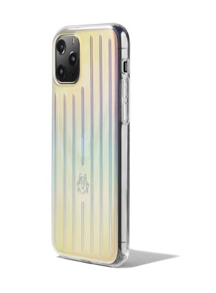 RIMOWA スマホケース・テックアクセサリー 【日本入手困難】Iridescent Groove Case for iPhone 11 Pro(2)