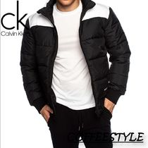 Calvin Klein PADDED WESTERN PUFFLE JACKET IN CK BLACK