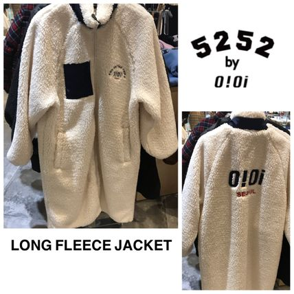 oioi korea アウターその他 2019FW★新作【5252 by OiOi】LONG FLEECE JACKET(8)