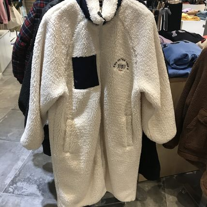 oioi korea アウターその他 2019FW★新作【5252 by OiOi】LONG FLEECE JACKET
