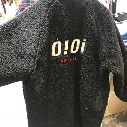oioi korea アウターその他 2019FW★新作【5252 by OiOi】LONG FLEECE JACKET(6)