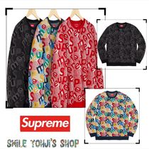 ★AW19 WEEK14★Supreme Scatter Text Crewneck