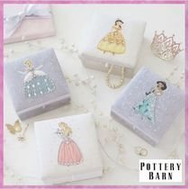 送料関税込*Pottery Barn*Disney Princess Jewelry Boxes