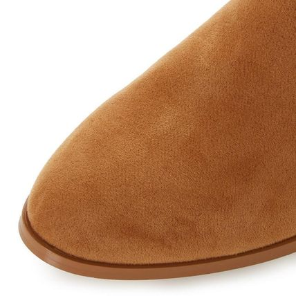 Dune LONDON ミドルブーツ 【Dune LONDON】Pedrine - Tan Stacked Heel Boot