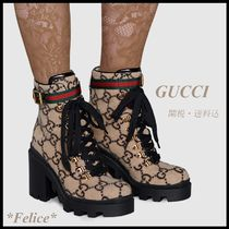 *GUCCI*GG Wool Ankle Boot 関税/送料込