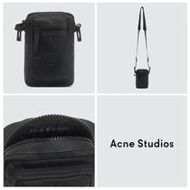 [Acne Studios] Face Patch クロスボディーバッグ