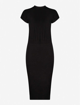 JAMES PERSE ドレス-ロング 関税込み◆Elasticated-waist stretch-cotton dress(2)