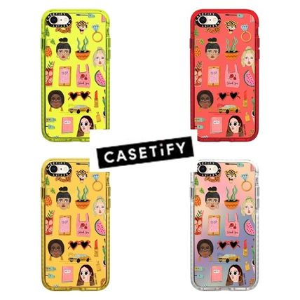 Casetify スマホケース・テックアクセサリー 【Casetify】 ★ iPhone ★MIXED PATTERN BY BODIL JANE