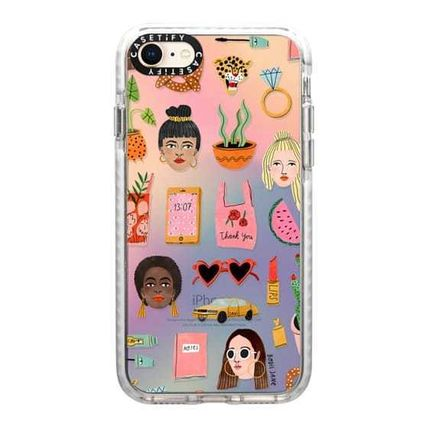Casetify スマホケース・テックアクセサリー 【Casetify】 ★ iPhone ★MIXED PATTERN BY BODIL JANE(5)