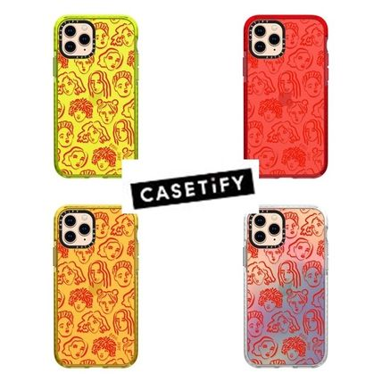 Casetify スマホケース・テックアクセサリー 【Casetify】 ★ iPhone ★RED PORTRAITS BY BODIL JANE