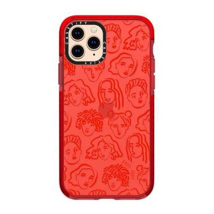 Casetify スマホケース・テックアクセサリー 【Casetify】 ★ iPhone ★RED PORTRAITS BY BODIL JANE(3)