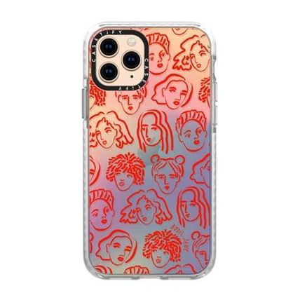 Casetify スマホケース・テックアクセサリー 【Casetify】 ★ iPhone ★RED PORTRAITS BY BODIL JANE(5)