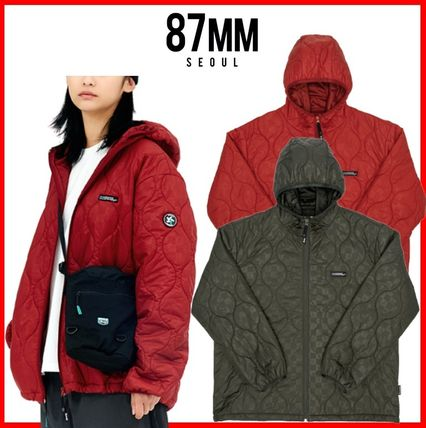 87MM アウターその他 ☆韓国の人気☆【87MM】☆C/B THINSULATE FILLED JUMPER☆2色☆
