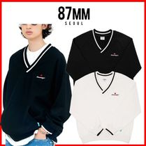☆韓国の人気☆【87MM】☆LOVE EMEMELGE SWEAT☆2色☆