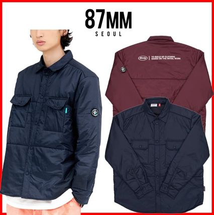 87MM シャツ ★韓国の人気★【87MM】★THINSULATE FILLED SHIRTS★2色★
