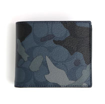 COACH☆3-IN-1 WALLET IN SIGNATURE CANVAS WITH CAMO PRINT