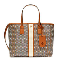 TORY BURCH GEMINI LINK CANVAS SMALL 2WAY TOTE 53304 905