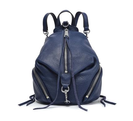 Rebecca Minkoff バックパック・リュック REBECCA MINKOFF★Julian convertible pebbled-leather backpack