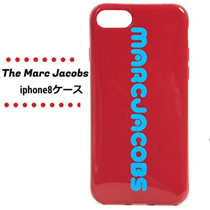MARC JACOBS スマホケース・テックアクセサリー 【セール商品】The Marc Jacobs☆iphone8ケース☆ロゴ入り♪