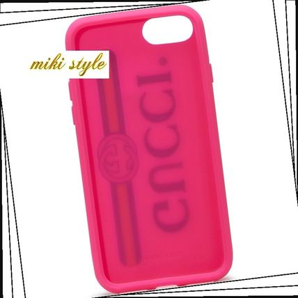 GUCCI スマホケース・テックアクセサリー 【GUCCI】 rubber iphone 7 case with gucciロゴ(3)
