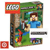 Target キッズ・ベビー・マタニティその他 LEGO Minecraft Steve BigFig with Parrot 21148 レゴマインクラフト