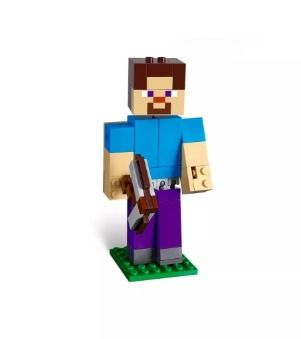 Target キッズ・ベビー・マタニティその他 LEGO Minecraft Steve BigFig with Parrot 21148 レゴマインクラフト(8)