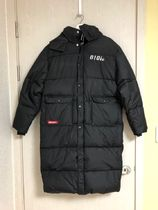 大人気韓国ブランドoioi☆POCKET POINT LONG PUFFER JACKET