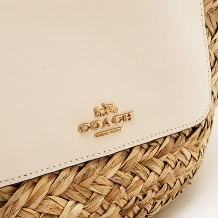 Coach かごバッグ 【即発】コーチCOACH バッグ トートバッグ ストロー 72705IMOU1(5)