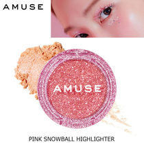 AMUSE(アミューズ) チーク ホリデー限定♪AMUSE■PINK SNOWBALL HIGHLIGHTER/TOO MUCH BEAM