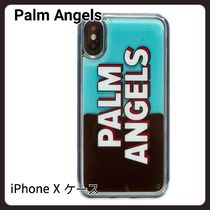 【PALM ANGELS】LIQUID LOGO IPHONE X Case スマホケース