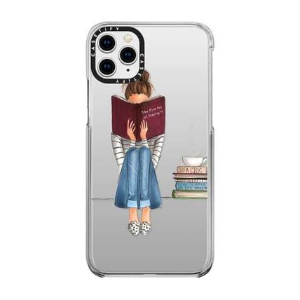 Casetify スマホケース・テックアクセサリー 国内送関込★Casetify iPhoneケース The Fine Art of Staying In(2)