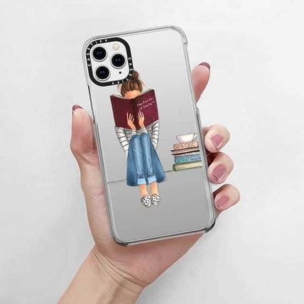 Casetify スマホケース・テックアクセサリー 国内送関込★Casetify iPhoneケース The Fine Art of Staying In(4)