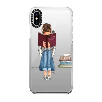 Casetify スマホケース・テックアクセサリー 国内送関込★Casetify iPhoneケース The Fine Art of Staying In(5)