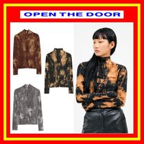 [OPEN THE DOOR]  back-button tie-dye pola T  -[全3色] /woman