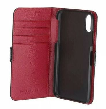 MARC JACOBS スマホケース・テックアクセサリー 大特価ラスト1点☆Marc Jacobs iPhone XR Folio Cell Phone Case(3)