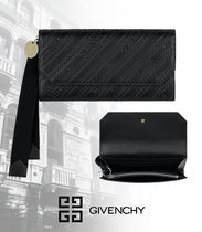 【GIVENCHY】2020SS新作*チェーン レザー ロング ウォレット