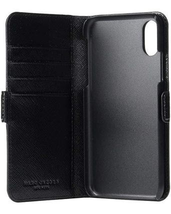 MARC JACOBS スマホケース・テックアクセサリー 大特価☆Marc Jacobs☆iPhone XS Case☆BLACK(3)