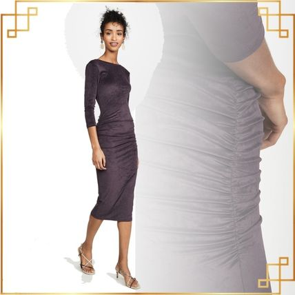 JAMES PERSE ドレス-ロング 関税込み◆Fitted Low Back Dress