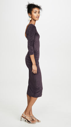 JAMES PERSE ドレス-ロング 関税込み◆Fitted Low Back Dress(4)