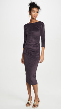 JAMES PERSE ドレス-ロング 関税込み◆Fitted Low Back Dress(5)