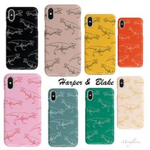 【Harper&Blaker】大人気☆Dinosaur Animal Phone Case