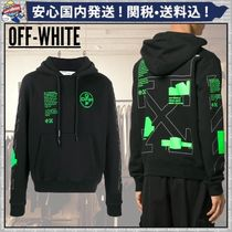 【Off-White】'Arch shapes' アローバック コットンパーカー