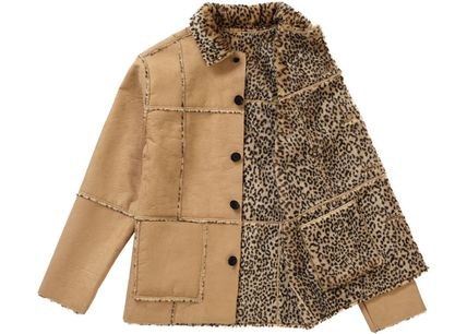 Supreme アウターその他 Supreme Reversible Faux Suede Leopard Coat SS 19 WEEK 4(2)