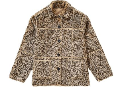 Supreme アウターその他 Supreme Reversible Faux Suede Leopard Coat SS 19 WEEK 4(3)
