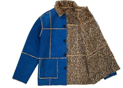 Supreme アウターその他 Supreme Reversible Faux Suede Leopard Coat SS 19 WEEK 4(5)