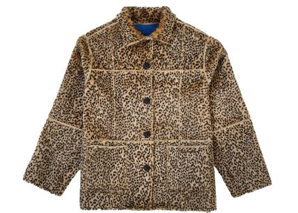 Supreme アウターその他 Supreme Reversible Faux Suede Leopard Coat SS 19 WEEK 4(6)