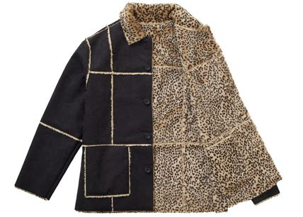 Supreme アウターその他 Supreme Reversible Faux Suede Leopard Coat SS 19 WEEK 4(8)