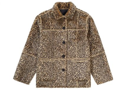 Supreme アウターその他 Supreme Reversible Faux Suede Leopard Coat SS 19 WEEK 4(9)