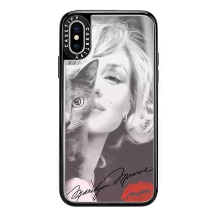 Casetify スマホケース・テックアクセサリー Casetify iphone Gripケース♪Simply Monroe in Pink with cat♪(6)