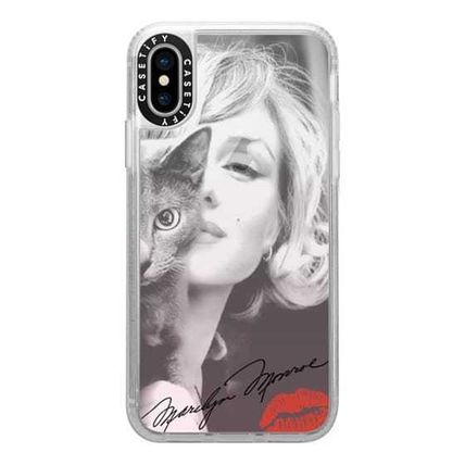 Casetify スマホケース・テックアクセサリー Casetify iphone Gripケース♪Simply Monroe in Pink with cat♪(10)
